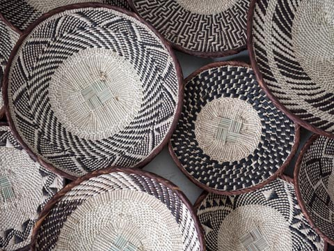 African Baskets and Furniture