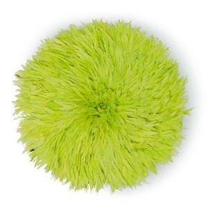 Juju Feather Hat Lime Green  - 50cm