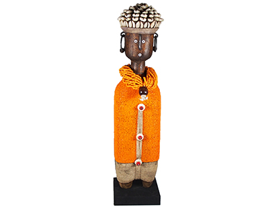 30-32cm-B Namji Doll - Orange