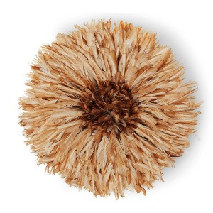 Juju Feather Hat Natural Brown - 80cm