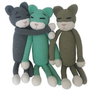 Crocheted Cat Soft Toys
