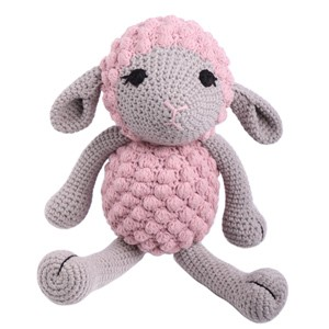 Crocheted Lamb Soft Toy